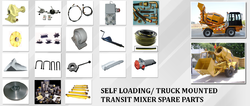 Spare Part of Mobile Self Loading Concrete Mixer
