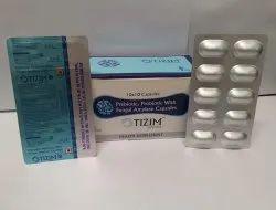 Prebiotic, Probiotic with Fungal Amylase Capsules