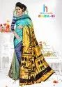 Digital 3 Printed Saree