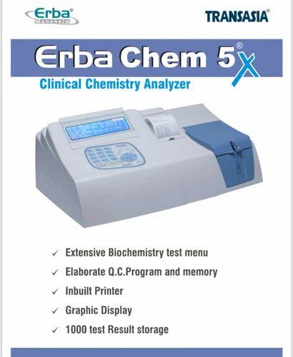 ERBA CHEM 5X AND SEMI  Biochemistry Analyzer