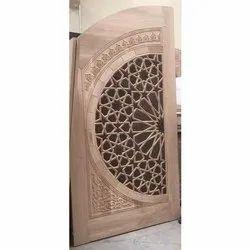 Fancy Wooden Door, Thickness: 10-20 mm