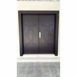 Hinged Polished PVC Solid Door, for Home