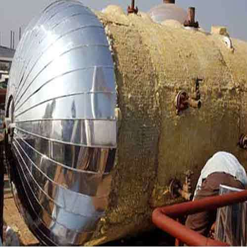 Tank Polyurethane Insulation Services, for Industrial