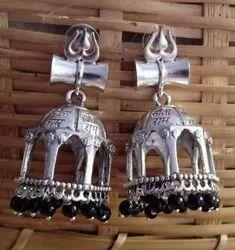Look Alike Brass Earrings