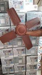 Crompton White Brown 4 Blade Ceiling Fan, Fan Speed: 1300 Rmp