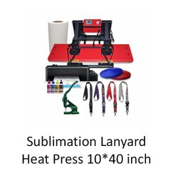 Lanyard Printing Heat Press Machine