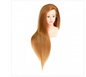 24 inch Long Real Hair Head With Half Shoulder
