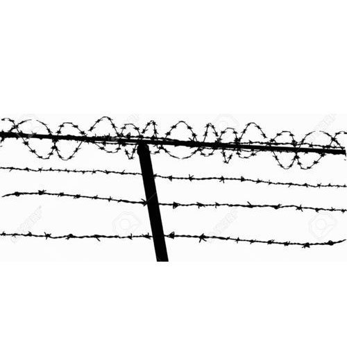 Barbed Wire Fence Vector at Rs 65 /kilogram   Sohna Road   Gurgaon ...
