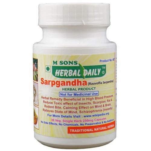 Herbal Daily Sarpgandha
