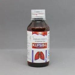 Levosalbutamol, Ambroxol Hcl With Gualphenesin Syrup