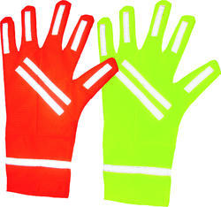 Vizwear Safety Reflective Gloves With Glassbead Tape