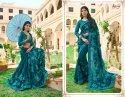 Beautiful Designer Georgette Embroidery Saree