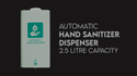 Touch Free Automatic Hand Sanitizer Dispenser