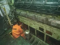 Crankshaft Polishing Of Marine Engines
