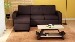 Burgundy Modern L Shape Sofa, For Home, Size: Contemporary