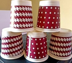 Double Wall Paper Cup, For Event and Party Supplies, Capacity: 200 ML
