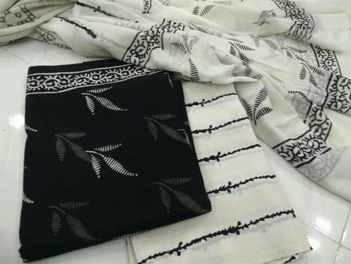 Ladies cotton printed suit with dupatta size: s xl rs 575 piece