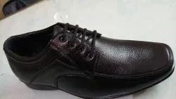 Frendo Black Men Formal Shoes, Size: 6-10