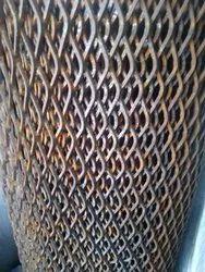 Mild Steel Diamond Wire Netting