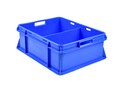 Square Solid Box Dairy Crates