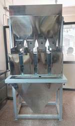 Semi Automatic Four Head Filling Machine