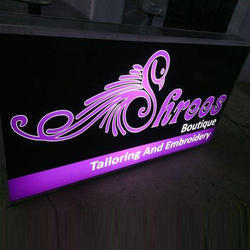 LED Backlit Signage Board