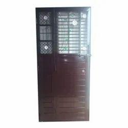 Sunil Enterprises Mild Steel MS Safety Door, For Home