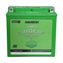 Amaron Pro Rider Battery, Voltage : 12 V