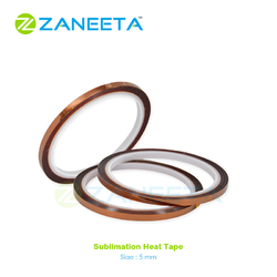 ZANEETA Brown Sublimation Heat Resistant Tape, Packaging Type: Rolls