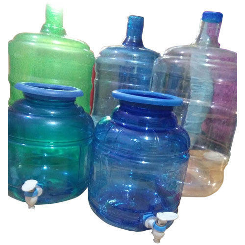 Plastic Green And White Crystal Bottled Water Dispenser Jar Capacity 20 Litre Rs 95 Piece Id 18951580391