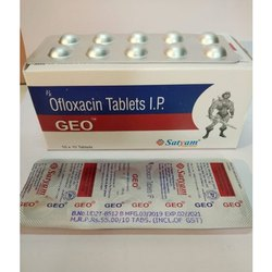 Ofloxacin 200 mg tablet ( GEO)