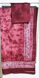 Shibori Hand Printed Bed Cover