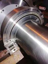 Polishing of Alternator Shaft