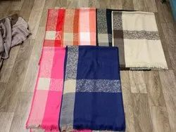 Pure Wool Self Border Stole