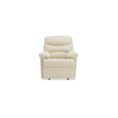 Durian Compact Ashley 1 Seater Nappa Aire Recliner Sofa