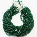 Green Jade Square Chopasa Smooth Beads, For Jewellery And Healing, Packaging Type: Box