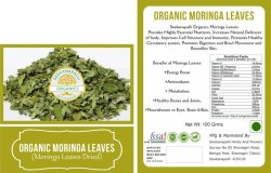 Seekanpalli Organics Moringa Leaves (Moringa Leaves Dried) 100 G