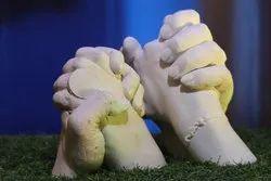 Couple Hand Casting 3D Kit