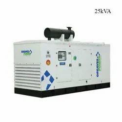 Greaves 25kVA Alternator Silent Generator