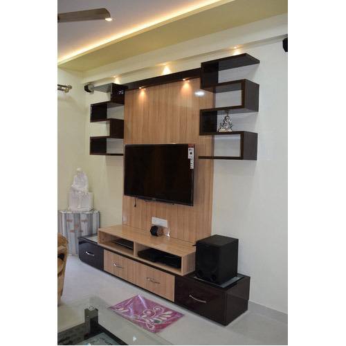 Lcd Tv Stand Designs Wooden : Designer wooden lcd unit at rs 1200 square feet lcd tv cabinet