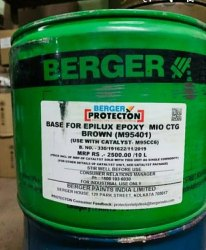 Berger Industrial Epilux Epoxy Mio, For Metal