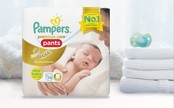 Pampers Premium Care Pants For Newborns