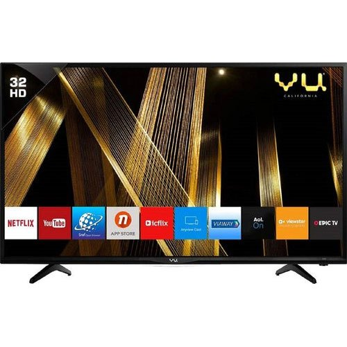 Linux 720p VU 32 Inches Ready HD Smart 32 OA LED TV, Usb,Hdmi, Warranty: 1 Year