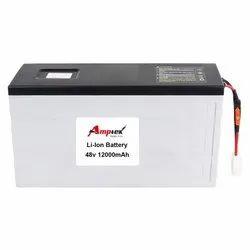 Li-Ion Battery Pack 48V 12000 Mah