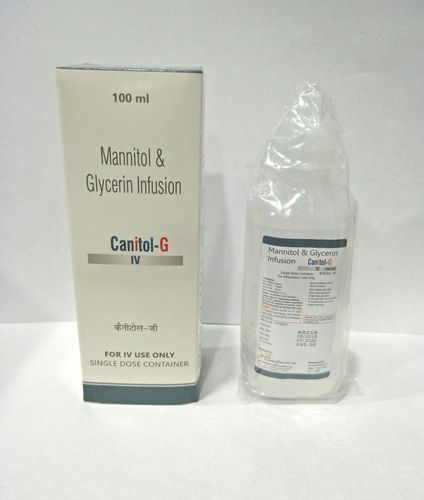 Canitol-G Allopathic Mannitol & Glycerin Infusion, Packaging Size: 100 Ml