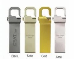 Metal pen drive with lock