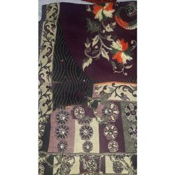 Poly Wool Embroidered Girls Stoles