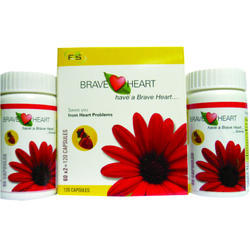 Heart Diseases Treatment Brave Heart Capsules