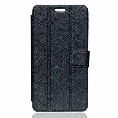 Black And Brown Flip Cover For Lenovo Phab Plus / Pb1-770