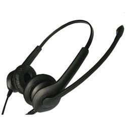 FMT Black Call Center USB Headphone, Upto 200 g
